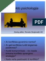 Konflikto psichologija