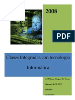 Clases integradas con las t.i.cs