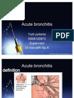 Acute Bronchitis Yudi