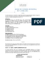 Conseil Municipal Latresne 07avr11