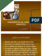 Fundamentos Del Ministerio Profetico