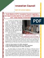 Innovation Council Kutch Sankul Report