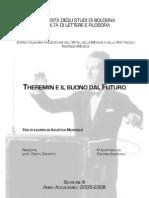 Theremin e Il Suono Dal Futuro a