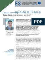 Géopolitique de la France - Note d'Analyse Géopolitique n° 55