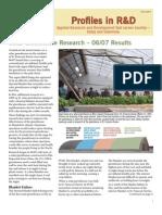 Solar Energy Greenhouses