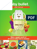 Baby Bullet Manual