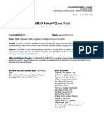 WiMAX Forum QuickFact 9-27-11