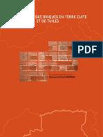 Algérie-Fabrication de briques en terre cuite et de tuiles 2007
