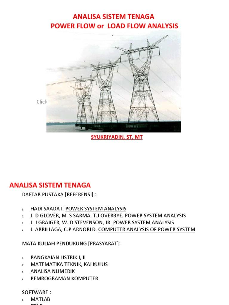 power system analysis pdf hadi saadat