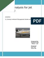 Performance of Jet Airways