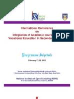 NIOS Programme Schedule Final (14.02.2012)