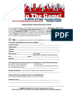 2012 Youth Conference Registration Form