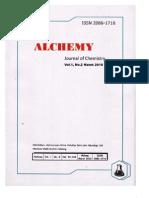 Kholifatu Rosyidah - Aktivitas Antibakteri Fraksi Saponin Dari Kulit Batang Tumbuhan Kasturi (Mangifera Casturi) - Jurnal Alchemy 2010