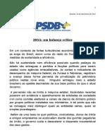 Critica Ao Primeiro Ano de Governo Dilma - Psdb