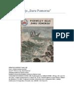 Pierwszy Rejs Daru Pomorza (Miniatury Morskie)