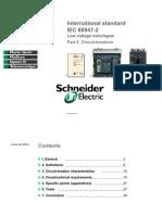 CB as Per IEC60947