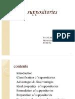 Suppositories