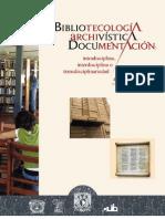 Bibliotecologia, archivistica, documentacion