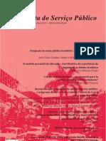 CODATO, Adriano. Intervenção estatal, centralização política e reforma burocrática