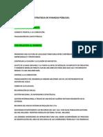 2. PROPUESTA DE FORTALECIMIENTO DE LAS  FINANZAS PÚBLICAS. Ruben Olarte