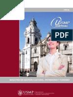 Maestria en Gestión Cultural, Patrimonio yTurismo - virtual
