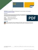 SAP CRM WEB UI 7.0 - Performance Testing