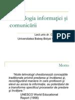 Tehnologia Informatiei Si Comunicarii