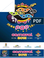 Programa y Dosier del Carnaval  2011 de Maspalomas