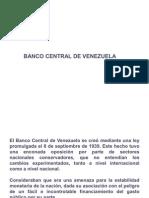 BANCO CENTRAL DE VENEZUELA Presentación