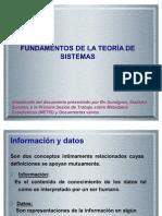 fUNDAMENTOS DE LA TEORIÁ DE SISTEMAS[1]