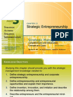 1 Strategic Entrepreneurship