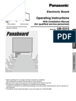 Panasonic UB 5315