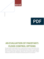 An Evaluation of Pakistan's Flood Control Options