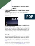 Confira Frases Marcantes de Steve Jobs