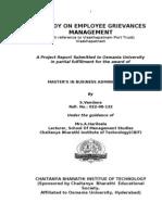 Grievance Redrassal Management