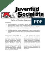 Huelga en Mayaguez segundo semestre 2010