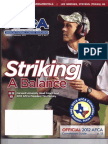 Tim Murphy AFCA Article Striking a Balance