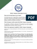 FBJSL Volunteer Scholarship Application (1)