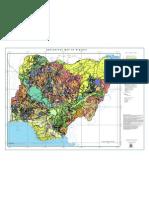 Geological Map of Nigeria
