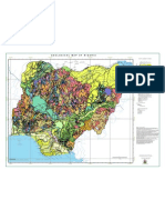Geological Map of Nigeria
