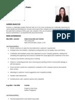 Maria Ahrenette D San Pedro Resume.doc One (2)