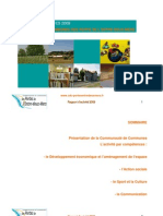 CDC Rapport activité 2009