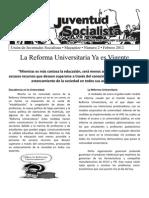 La Reforma Universitaria ya es Vigente #2 febrero 2012