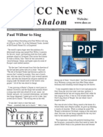 SHCC Shalom Hebraic Christian Congregation 2006 Volume 1