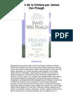 curación de la tristeza por james van praagh - 5 estrellas reseña del libro