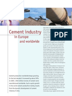 Cement Industry in Europe and Worldwide