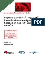 Vertica BI Reference Architecture V1!11!21-2008