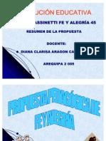 Propuesta Pedaggica de Fe y Alegra 1221608260104798 9