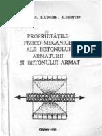 IM_99_Proprietatile Fizico-mecanice Ale Betonului Armaturii Si Betonului Armat