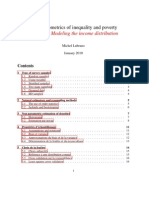 The econometrics of inequality and poverty